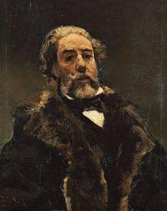 E. S. F.-RETRATO - Emilio Sala Francés - pintor Alicantino nacido en Alcoy