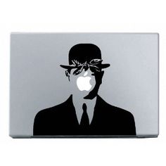 Magritte ----Macbook Decal Macbook Sticker Mac Decal Apple Vinyl Decal for Macbook Pro / Macbook Air / iPad. via Etsy. Stickers Mac, Macbook Decal Stickers, Mac Decals, Laptop Decal, Vinyl Decals, Apple Stickers, Iphone Decal, Macbook Air, Macbook 15 Inch