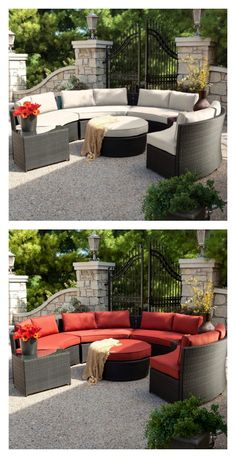 If you need a reason to have the neighbors over for some grilling and wine, let the Belham Living Meridian All Weather Wicker Sectional inspire you. You'll love the quality and style of this set, but you'll truly appreciate its value. Find it exclusively at hayneedle.com.
