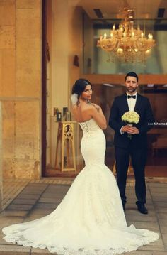 bride, groom, and wedding image Wedding Images, Wedding Pics, On Your Wedding Day, Wedding Gowns, Dream Wedding, Lace Wedding, Wedding Ideas, Lace Mermaid Wedding Dress, Bride Groom