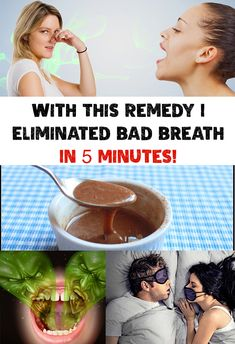 With This Remedy I Eliminated Bad Breath In 5 Minutes!