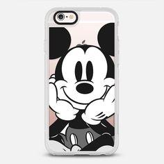 Black - White Mickey - New Standard Case