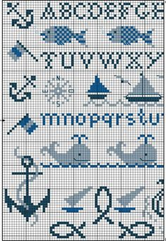 Cross Stitch World: CrossStitch. OCEAN