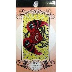 Jewellery Stickers - Tattoo Heart
