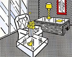 Roy Lichtenstein - The Den, 1990