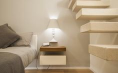 Lightness to be lived. 36e8 Storage   Project by Dario Salamone Architect. #lagodesign #comodino #home #homedecor #interior #bedroom #cameradaletto #camera