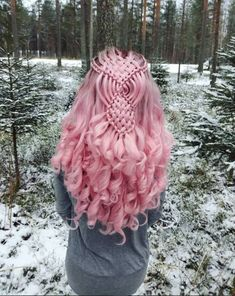 46 Beautiful Pink Hair Color Ideas To Makes You Looks Stunning Frisur 46 Schöne rosa Haarfarbe Ideen Hair Color Pink, Cool Hair Color, Hair Colours, Red Color, Pink Wig, Dyed Hair Pink, Colors, Pretty Hairstyles, Braided Hairstyles