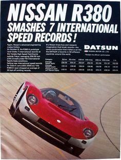 Nissan R380 ad