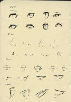 Eyes/nose/mouth tutorial