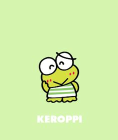 Get free exclusive Keroppi goodies. Super fun emoticons, wallpaper, papercrafts and more. Little Twin Stars, Keroppi Wallpaper, Walpapers Cute, Cool Boy Image, Pochacco, Boy Images, Line Friends, Sanrio Characters, Sanrio Hello Kitty