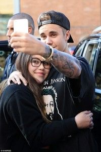 Justin Bieber wears Marilyn Manson's ANTICHRIST T-shirt to Hillsong Church conference