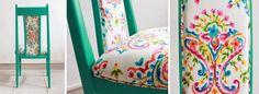 sillas americanas tapizadas - Buscar con Google Decor, Curtains, Shower Curtain, Bed, Printed Shower Curtain, Home Decor, Prints