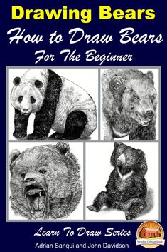 """Read """"Drawing Bears: How to Draw Bears For the Beginner"""" by John Davidson available from Rakuten Kobo. Table of Contents Drawing tools Pencils Charcoal pencils Mechanical pencil Sharpener Erasers Smudge sticks Coloring mate. Eye Drawing Tutorials, Drawing Techniques, Drawing Tools, Sketching, Bear Drawing, Cute Cat Drawing, Drawing Drawing, Learn To Sketch, Learn To Draw"""