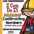This file is an up-date version of my best-selling 'Constructing Numbers.'  It now contains a students instructional sheet, follow-up response shee...