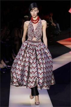 Giorgio Armani Privé - Haute Couture Spring Summer 2013 - Shows - Vogue.it