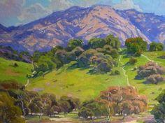 Malibu Landscape painting by Liliana