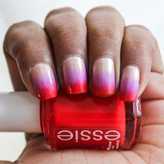 Learn how to make the easiest nail art design there is - Ombre Nails!