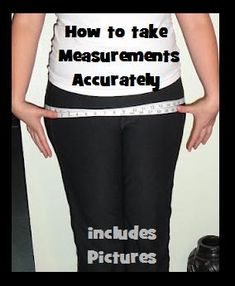 Weighting For It to Happen...: How to take full body measurements