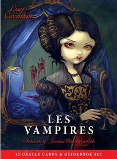 A stunning deck designed for those facing difficult decisions, upheaval in relationships or wishing to move away from draining careers, situations or people. Vampiric energies have often been feared a