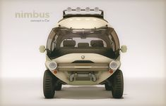 Eco-Concept Car Seemingly Inspired by Pixar Films