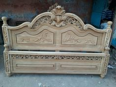 Wood Carving Furniture Wood Colors and I Like The Color Of This Wood. Wood Bed Design, Wooden Door Design, Bedroom Bed Design, Wood Bedroom Furniture, Furniture Layout, Furniture Design, Furniture Ideas, Rustic Wood Cabinets, Cama Queen Size