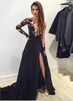 sexy prom dress, chiffon prom dress, Unique prom dress #SIMIBridal #promdresses