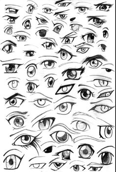 Amazing Learn To Draw Eyes Ideas. Astounding Learn To Draw Eyes Ideas. Realistic Eye Drawing, Manga Drawing, Manga Art, Anime Art, Kitty Drawing, Anime To Draw, Manga Anime, Drawing Techniques, Drawing Tips
