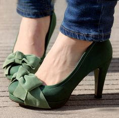 Need some green shoes.