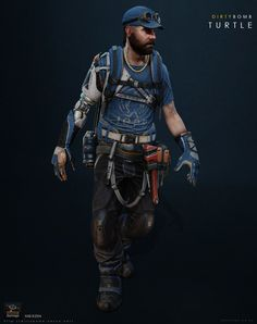 Character art from the shooter Dirty bomb by Splash Damage & Nexon. These characters were made anywhere from years ago and are shown in Unreal Various character concepts by Manuel Dischinger, Georgi Simeonov, Adam Baines and Igino Character Creation, Game Character, Character Concept, Concept Art, Character Design, Cyberpunk Character, Cyberpunk Art, Post Apocalypse, Gangsters