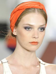 Glad to see this is on a runway somewhere. I love headbands.