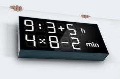 Albert - digital clock for kids (and grownups) by Axel Schindlbeck & Fred Mauclere — Kickstarter