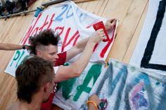 Nie zapomnijcie przygotować swoich flag! Woodstock, Flag, Science, Flags