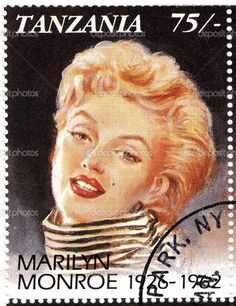 Marilyn postage stamp