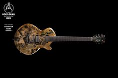 Exhibitor at the Holy Grail Guitar Show 2015: Thorsten Hans, Hans Guitars…