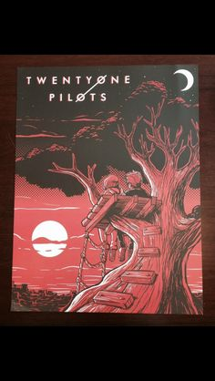 The winner of the Twenty One Pilots poster contest 2016.