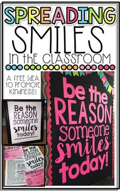 Promote Kindness in the Classroom with this FREEBIE and easy bulletin board! Classroom Bulletin Boards, Classroom Behavior, Classroom Community, Classroom Environment, Classroom Displays, Classroom Themes, School Classroom, Classroom Organization, Classroom Management