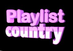 "Come get some FREE down-home country music out here in the wide open ""Playlist Country.""  Click through to find a hand full of Texas sized country playlists to listen to or share with your family & friends for FREE. (http://www.playlist.com/country)"