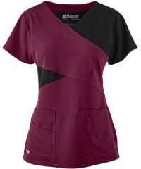 Grey's Anatomy Scrubs Signature Stretch Color Block Top - XL - Coral Kiss W/ Black Dental Scrubs, Medical Scrubs, Nursing Scrubs, Nursing Tips, Scrubs Outfit, Scrubs Uniform, Cute Scrubs, Greys Anatomy Scrubs, Medical Uniforms