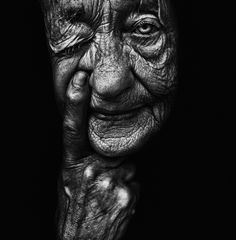 """""""See No Evil""""  Edited,Photographyby - Lee Jeffries"""