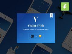 Vision Mobile UI Kit