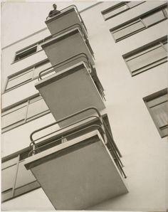 László Moholy-Nagy, Bauhaus Balconies, 1926