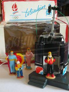 Télécabine jouet POMA des Jeux Olympiques d'Albertville 1992