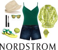 A Place in the Sun, Sponsored by Nordstrom, created by kinsleepounder on Polyvore