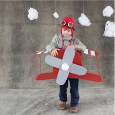 Easy Airplane Costume!