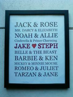 Famous couples :)