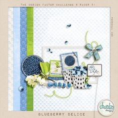 Blueberry Delice by Chunlin Designs