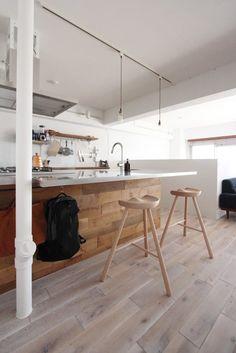 キッチンのデザイン:オトコの白をご紹介。こちらでお気に入りのキッチンデザインを見つけて、自分だけの素敵な家を完成させましょう。