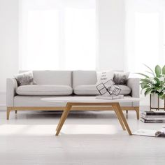 Wouldn't you like to stay home today? Shop the Home Swede Home Sale for one more week with special promo code HSH16 and get the Loren Sofa and everything from Kure 10% off. Shop link in bio . . . #midcenturymodern #danishdesign #kure