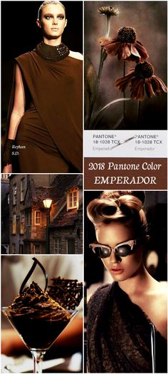 '' Emperador- 2018 Pantone Color '' by Reyhan S.D