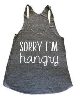 sorry im hangry Ways to My Heart Food Gym tank top. workout tank. workout clothes. graphic tees for women. yoga tank. muscle tank low armpit